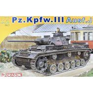 Pz.Kpfw.III Ausf. J масштаб 1:72 Dragon 7372D, фото 1