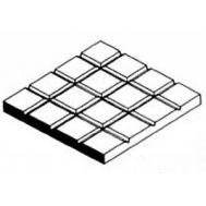 Мостовая, квадраты 12,7х12,7 мм, лист 15х30 см EVG4518, фото 1