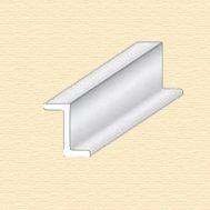 Z-профиль пластиковый, 6,3 мм, 2 шт/упак EVG757, фото 1