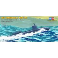 USS Navy Greeneville submarine SSN-772 масштаб 1:700 Hobby Boss HB87016, фото 1