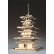 3-х ярусная пагода YAKUSHIJI масштаб 1:75 WJ35221, фото 1
