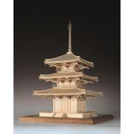 3-х ярусная пагода HORINJI масштаб 1:75 WJ35223, фото 1