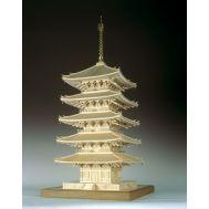 5-ти ярусная пагода KOFUKU-JI масштаб 1:75 WJ35226, фото 1