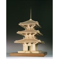 3-х ярусная пагода HOKKIJI масштаб 1:50 WJ35228, фото 1