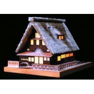 YUKI-NO-GASSHO, дом с подсветкой WJ35861, фото 1