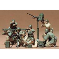 Американские солдаты в бою (8 фигур) масштаб 1:35 Tamiya 35086, фото 1
