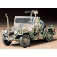Амер. джип M151A2 Ford Mutt (2 вар. сборки) с пул. М60, 1фиг. масштаб 1:35 Tamiya 35123, фото 1