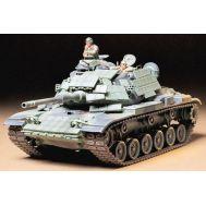 Амер. танк M60A1 с реакт. броней и 2 фиг. масштаб 1:35 Tamiya 35157, фото 1