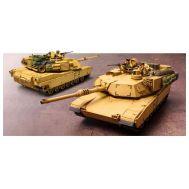 Амер. танк М1А2 Abrams c 120мм пушкой с 2 фиг. OIF масштаб 1:35 Tamiya 35269, фото 1