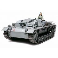 Sturmgeschutz III Ausf.B интер., алюм. ствол, фототр., масштаб 1:35 Tamiya 35281, фото 1