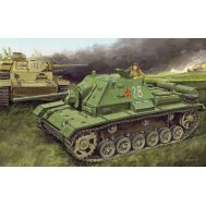 Советская СУ-76И масштаб 1:35 Dragon 6838D, фото 1