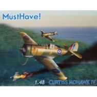 Curtiss Mohawk IV масштаб 1:48 MustHave MH148001, фото 1