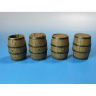 Деревянные бочки для воды масштаб 1:35 EUREKA E-009, фото 1