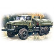 Урал-5-375 бензозаправщик масштаб 1:72 ICM72713, фото 1