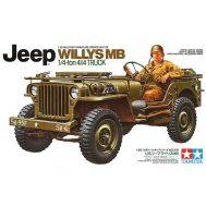 Американский 1/4-тонный джип 4х4 Willys MB Jeep масштаб 1:35 Tamiya 35219, фото 1