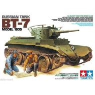 Советский танк БТ-7 1935г масштаб 1:35 Tamiya 35309, фото 1