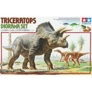 Диорама Triceratops Diorama Set масштаб 1:35 Tamiya 60104, фото 1