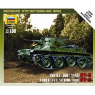 Советский легкий танк БТ-5 масштаб 1:100 ZV6129, фото 1