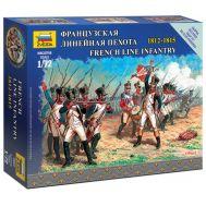 Французская линейная пехота 1812-1815г. масштаб 1:72 ZV6802, фото 1