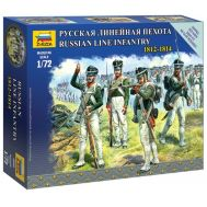 Русская линейная пехота 1812-1814г. масштаб 1:72 ZV6808, фото 1