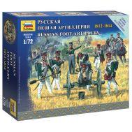 Русская пешая артиллерия 1812-1814г. масштаб 1:72 ZV6809, фото 1