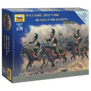 Русские драгуны 1812-1814г. масштаб 1:72 ZV6811, фото 1