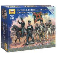Русская линейная пехота 1812-1814г. масштаб 1:72 ZV6815, фото 1