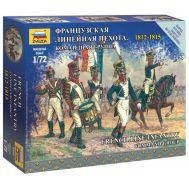 Французская линейная пехота Командная группа 1812-1815г. масштаб 1:72 ZV6816, фото 1