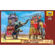 Боевые слоны III-I век до н.э. масштаб 1:72 ZV8011, фото 1