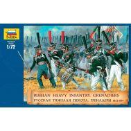 Русская тяжёлая пехота Гренадёры 1812-1814г. масштаб 1:72 ZV8020, фото 1