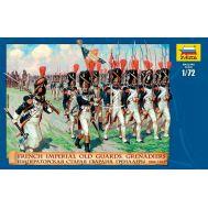 Императорская Старая Гвардия Гренадеры 1804-1815г. масштаб 1:72 ZV8030, фото 1
