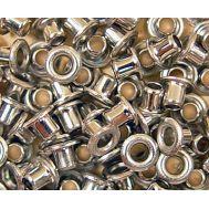 Иллюминатор-заклепка, никелированный, 2 мм, 5 шт AM4946-02, фото 1