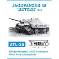 Траки металл Jagdpanzer 38, HETZER late масштаб 1:35 FRIULMODEL ATL-35-35, фото 1