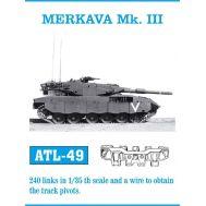 Траки металл MERKAVA Mk.III масштаб 1:35 FRIULMODEL ATL-35-49, фото 1