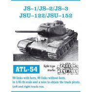 Траки металл ИС-1, ИС-2, ИСУ-122, ИСУ-152 масштаб 1:35 FRIULMODEL ATL-35-54, фото 1