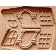 Боковой декор для модели корабля Бригантина Феникс MK0401B-OS, фото 1
