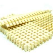 Заготовки для решеток, 59х3,5 мм, дерево, 32 шт RB016-19, фото 1