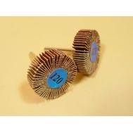 Диск лепестковый радиальный P120 30х10мм, 2шт, хвостовик 3мм JAS2407, фото 1