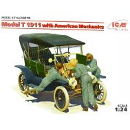 Model T 1911 с американскими механиками масштаб 1:24 ICM24010, фото 1