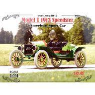 Model T 1913 Спидстер, Американский спортивный автомобиль масштаб 1:24 ICM24015, фото 1