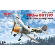 Bucker Bu 131D, Германский учебный самолет ІІ МВ масштаб 1:32 ICM32030, фото 1