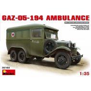 Санитарный автобус ГАЗ-05-194 масштаб 1:35 MiniArt MiA35164, фото 1