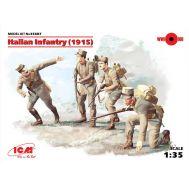 Пехота Италии 1915г. масштаб 1:35 ICM35687, фото 1