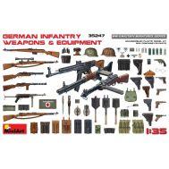 Немецкое пехотное оружие и оборудование масштаб 1:35 MiniArt MiA35247, фото 1