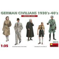 Немецкие гражданские 1930-40г. масштаб 1:35 MiniArt MiA38015, фото 1