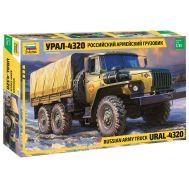 Российский армейский грузовик Урал-4320 масштаб 1:35 ZV3654, фото 1