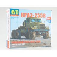 КРАЗ-255В cедельный тягач (KIT) металл масштаб 1:43 1346AVD, фото 1