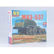 МАЗ-537, Седельный тягач (KIT) металл масштаб 1:43 1353AVD, фото 1