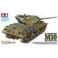 Американская самоходка Tank Destroyer M10, с 3 фигурами масштаб 1:35 Tamiya 35350, фото 1