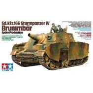 Sturmpanzer IV BRUMMBAR, поздняя версия  с 2 фигурами масштаб 1:35 Tamiya 35353, фото 1